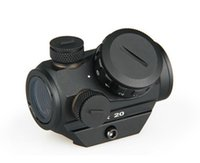 Tactical 1X20 HD Reflex Red Dot Sight Scope Com 20mm Weaver Rail Mount ht330