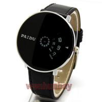 Wholesale Women S Quartz Wrist Watch - s Quartz Wristes Paidu Wrist Watch Women dress watches hour clock Leather Digital men fashion Casual watch Unisex Quartz watch relogio re...
