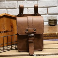 WholeTide Brand Bags Moda Multi-funcional Men Pockets Retro Crazy Horse Leather Zero Wallet Coreano Mens Purse Simple Mobile Phone Bag