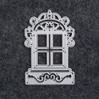 Wholesale Handmade Crafts For Home Decoration - 1pc House Design Cutting Dies Stencils for DIY Scrapbooking Handmade Metal Paper Cards Album Embossing Decorative Craft