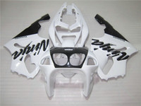 Wholesale 96 Kawasaki Ninja - High quality Fairing kit for Kawasaki Ninja ZX7R 96 97 98 99 00-03 white black fairings set ZX7R 1996-2003 OY12