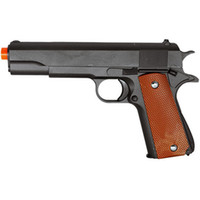 Wholesale 6mm Pistol Bb Gun - GALAXY G13 METAL GUN MILITARY M1911 SPRING AIRSOFT PISTOL w  6mm BB 250 FPS