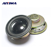 Wholesale small high speakers - Wholesale- AIYIMA 2PCS 4ohm 3W Speaker Mini Full Frequency Stereo Sound Small Hifi Speakers Diameter 40mm High 20mm 1.5 inch Speakers