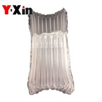 Wholesale Milk Powder Can - Inflatable Air Dunnage Bag Air Cushion Column Wrap Bags Air Filled Protective Milk Powder Can with a Free Pump