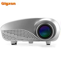 Wholesale Dvd Box Sets - Wholesale- Gigxon - H600 TF-card set top box projector full DVD HD Players mini led projector