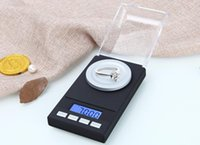 Wholesale Digital Mini Lab - 0.001g Jewelry LCD Digital Scale Lab Weight Milligram Scale Medicinal Herbs Use Portable Mini Electronic Scales Precisely 20g 50g