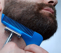Wholesale Hair Styling Tools For Men - creative art Beard Bro Shaping Tool Styling Template BEARD SHAPER Comb for Template Beard Modelling Tools