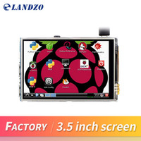 Wholesale Tft Lcd Screen Display Panel - 3.5 inch 26P SPI TFT LCD Display Screen with Touch Panel 320*480 for RPi1 RPi2 raspberry pi3 Board V3 raspberry pi touch screen capacitive