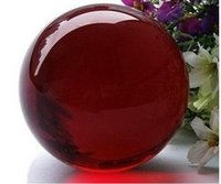 Wholesale living sphere - Wholesale Asian Rare Quartz Red Magic Crystal Healing Ball Sphere 40mm + Stand