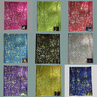 Wholesale Designed Gele - New design nigeria headtie,Silver nigerian head ties gele sego for african head wraps 2pcs pack LXL-2