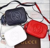 Wholesale Tartan Backpack Leather - AAA 2017 new double G bag sales classic fashion bag ladies handbag shoulder bag small gold chain chain handbag, backpack 5 color