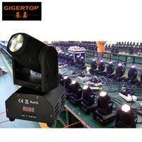 Freeshipping 10pcs / lot 15W RGBW Mini Led Moving Head Light 110V-240V DMX 9/16 Channels Total Power 20W Pan Tilt 540/270 disco TP-L626