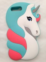 Wholesale 3d Cute Design Case - Cute 3D Cartoon Lovely Animal Design Soft Rubber Back Case Cover for iPhone 7 Plus 5.5''