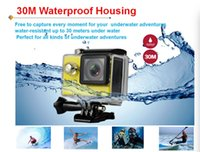 Wholesale Mini Bikes Videos - 4k sport action camera with remote control wifi Ultra HD 1080p 60fps 720P 120FPS waterproof mini cam bike video record sports camera