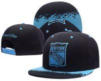 Wholesale New York Hip Hop Caps - 2017 New York Rangers Snapbacks Summer Hats Adjustable Hats Sports Caps Hot Selling Snapback Hats Cheap Hip Hop Snapbacks Hockey Caps