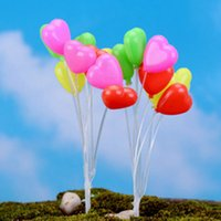 Wholesale Ceremony Room Decoration - 2017 new Moss micro - landscape ornaments mini small balloon balloon shooting props home decoration material jewelry