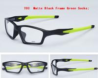 montures de lunettes violet titane femmes achat en gros de-top marque de mode designer hommes femmes lunettes de soleil montures optique lunettes de sport monture top qualité 8031 en boîte