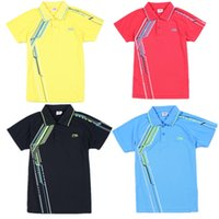 Wholesale Sport Tennis Clothe - Hot new badminton wear sports clothes T-shirt man   woman sportswear clothing (tennis shirts) sweat - Free Shipping
