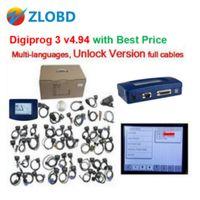 Wholesale Digiprog Full Set - ZOLIZDA Digiprog III 2017 Top Digiprog 3 V4.94 Full Set Odometer Adjust Programmer digiprog Mileage Correct-tool DHL Free