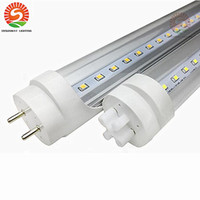 Stock en US Dimmable 4ft 1200mm T8 Led Tube Light Haute Super Bright 20W 22W Chaud Froid Blanc Led Ampoules Fluorescentes AC110-240V