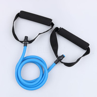 Wholesale Resistance Fitness Equipment - Natural Rubber Latex Fitness Resistance Bands Exerciese Tube Rope Elastic Exercise Yoga Band Pilates Workout Fitness Equipment