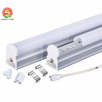 natürliches weißes fluoreszierendes licht großhandel-T5 1.2m 4ft führte Schlauch-Licht 22W integrierte T5 führte Leuchtstofflampen-Rohr-Licht-warmes natürliches kühles Weiß Wechselstrom 110-277V + CER UL