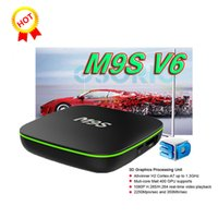 Scatola Android M9S V6 Android H2 Quad Core TV BOXES KD16.1 1GB 8GB Scatola TV OTT Box WIFI libero Internet TV Set Top Box VS V88