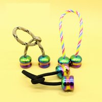 Wholesale Cylinder Toy - Colorful EDC Ball Cylinder Begleri Stone Washed Anti Corrosion Flamed Options For Finger Toys Extreme Sports Hot Sale 28sh A