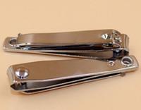 zehennagelschere pediküre großhandel-Große Edelstahl Zehen Nagelknipser Clipper Maniküre Schönheit Werkzeug Nagelschneider Pediküre Schere