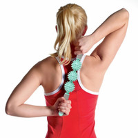 Wholesale Cellulite Massager Wholesale - Massage Roller Yoga Stick Bar Muscle Trigger Point Massager Stick Eliminate Fat Lose Weight Cellulite Health Care ZA2418