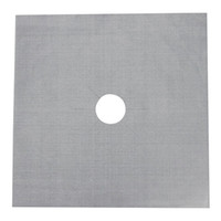 square gas burner - Reusable Hob Burner Protect Cover Liner Keep Clean Pads Gas Stove Mats