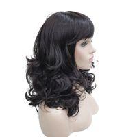 Wholesale Long Wavy Layered Wigs - bob StrongBeauty Women's Bob Long Wavy Layered Hair Black Auburn Synthetic Full Wig 8 Color