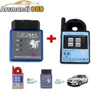 DHL free shiping Mini ND900 Transponder Key Programmer Plus Toyo Key OBD II Key Pro Suporte 4C 4D 46 G H Chips