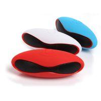 Wholesale Cheaper Mobile Phones - Mini Wireless Pill Bluetooth Speaker Mini Rugby Bluetooth Speaker With Cheaper price Mini X6 Speaker