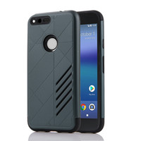 Wholesale Google Phone G4 - Dual Layer ShockProof Armor Phone Case For Google Pixel XL Case Coque Phone Cases For MOTO G4 Play G4 Plus Z Fundas Full Protective Cases