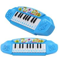 Wholesale Electronic Male Toys - Toy piano music baby girl male children educational toys little musician playing electronic organ baby