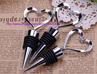 Wholesale Butterfly Bottle Stopper - 100pcs Vineyard Collection Star Design flower de luce Butterfly Heart Shape Wine Champagne Stopper Stoppers Wedding Party Gift Favors