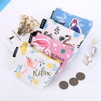 Wholesale boy girl bedding online - Purse Boys And Girls Printing Coin Storage Bag Zipper Handbag For Monen Easy To Carry Many Styles yq C R
