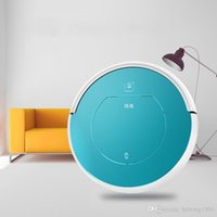 Wholesale Wet Dry Vacuum Cleaner Wholesale - Robot Vacuum Cleaner Wet And Dry Cleaning Smart Dust Catcher Fully Automatic Mute Oem Aspirator Round Vacuums Sweeper Colorful 389fd A