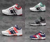 Wholesale Cheap Bowling Equipment - Mens EQT Support 93 A6 Woven Running Shoes Originals Equipment Cheap Price Sports Shoes Top Quality Fashion Running Sneakers Size 40-44