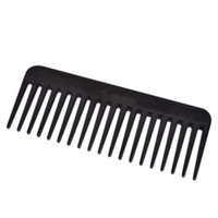 Wholesale Hair Care Wholesalers - Wholesale- 1pc 19 Teeth Comb Heat-resistant Large Wide Detangling Hairdressing Tooth Black New Hair Care Tools Salon