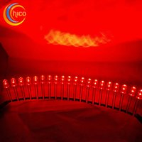 Wholesale Super bright LED conjoined bead led diodes Water Clear mcd mm light emitting Red led diode bag