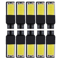 online Shopping White Led Side Marker - 20Pcs High Power T10 White COB LED Auto Decoding Canbus Light Leselicht Deckenlicht Free Shipping