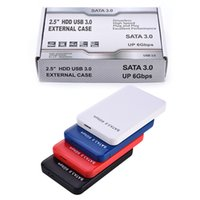 "Wholesale Ssd Hard Drive Wholesale - NEW USB 3.0 Tool Free External 2.5"" SATA SSD HDD Hard Drive Disc Enclosure Case"