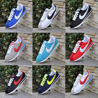 Wholesale Network Medium - Selling! 2016 classic yin and yang men and women spring fall casual sports shoes racing shoes Cortez sports shoes leisure network size 36-47
