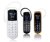 Wholesale Radio Ear Phones - LONG-CZ J8 Magic voice bluetooth 3.0 earphone Hands Free Headphone dialer cellphone FM radio mini mobile phone Micro SIM Card, GSM Network
