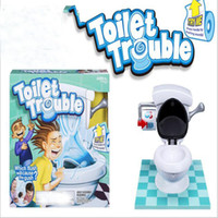 Wholesale Kids Toy Toilet Trouble Game Washroom Tricky Toys Funny Game parents kids Friends Play Together for Fun as a Gift