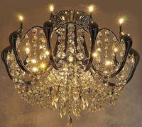 Wholesale Led Crystal Swans - modern crystal Chandeliers Swan minimalist luxury living room lights led Restaurant Lighting LLFA