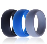 Wholesale United Environmental - Europe and the United States silicone ring sports ring men and women environmental silicone jewelry