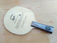asas de la cuchilla de tenis de mesa al por mayor-Yasaka yca carbono malin carbono mesa de tenis de mesa raqueta de tenis de mesa ping pong murciélagos ping pong mango largo shakehand
